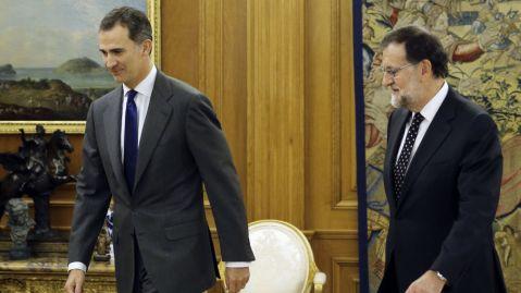 Ronda de contactes - Rei i Rajoy